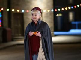 Helen George as Nurse Trixie Franklin in the Call The Midwife 2021 Christmas Special