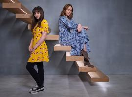 Alice Dillon (Keeley Hawes) and Charlotte Walsh (Isabella Pappas). © Acornt TV