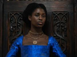 "Jodie Turner-Smith as ""Anne Boleyn"" (Photo: PARISA TGAHIZADEH / FABLE / THE FALEN FALCON LTD / VIACOMCBS)"
