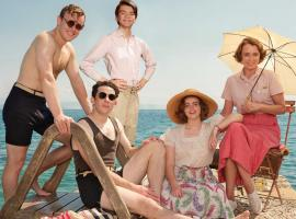 The cast of 'The Durrells in Corfu'