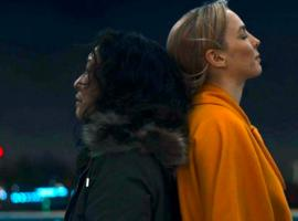 """Sandra Oh and Jodie Comer in """"Killing Eve"""" (Photo: BBC America)"""