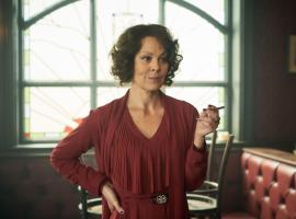 "Helen McCrory as Polly Gray in ""Peaky Blinders"" (Photo: BBC)"