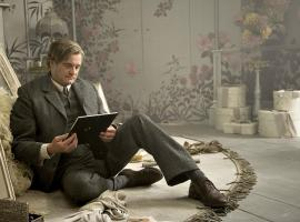 "Colin Firth as the grieving Archibald Craven in ""The Secret Garden."" Courtesy Elevation Pictures"
