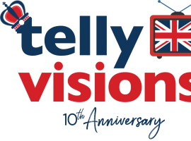 TellyVisions 10th Anniversary Logo