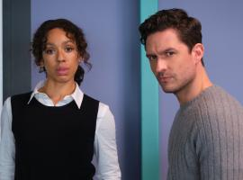 """Ben Aldrich and Pearl Mackie in """"The Long Call"""" (Photo: ITV)"""