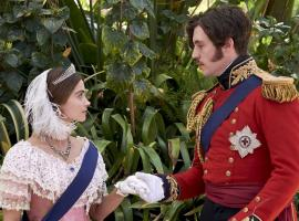 Victoria and Albert at the Great Exhibition (Photo: Courtesy of Justin Slee/ITV Plc for MASTERPIECE)