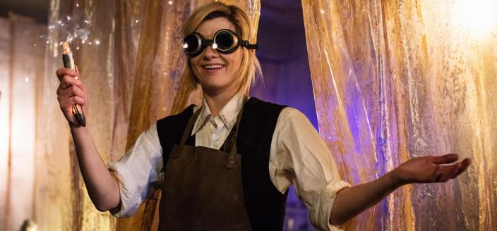 Jodie Whittaker as the Thirteenth Doctor (Photo: BBC)