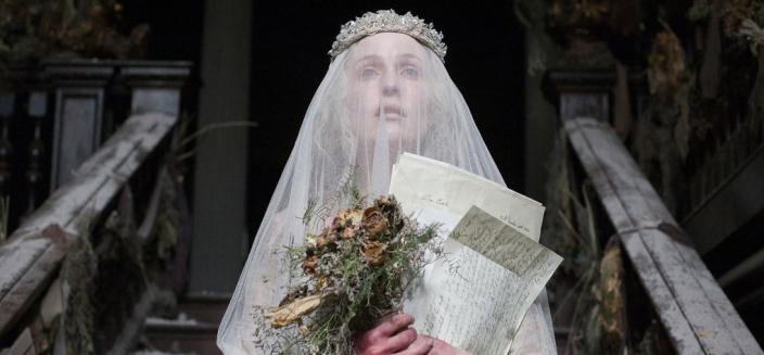 "Gillian Anderson as Miss Havisham in ""Great Expectations"" (Photo: Nicola Dove/BBC for Masterpiece)"