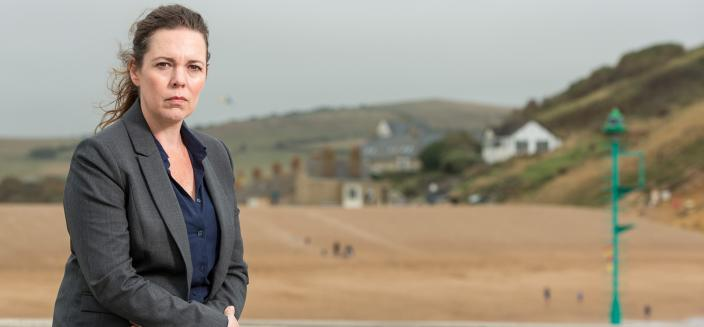 "Olivia Colman in a promotional shot from ""Broadchurch"" Season 3 (Photo: ITV)"