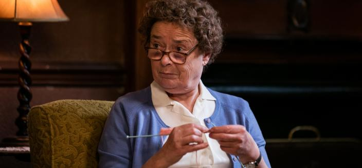 Probably the most respected midwife this season, Nurse Crane (Linda Bassett)  (Photo: Courtesy of Neal Street Productions 2016)