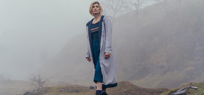 """Jodie Whittaker in """"Doctor Who: Flux"""" (Photo: BBC America)"""