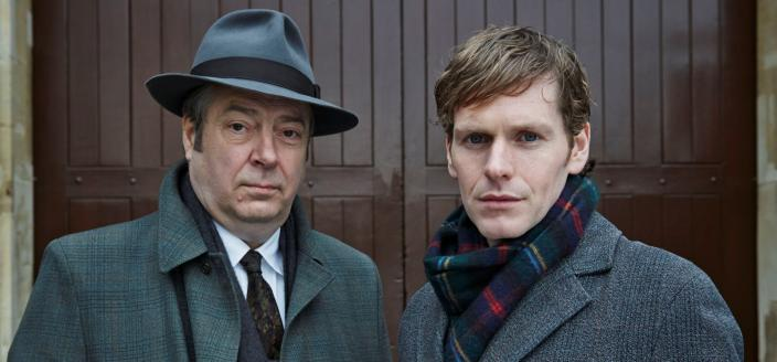 """Roger Allam and Shaun Evans back in """"Endeavour"""" Season 2. (Photo: Courtesy of (C) ITV for MASTERPIECE)"""