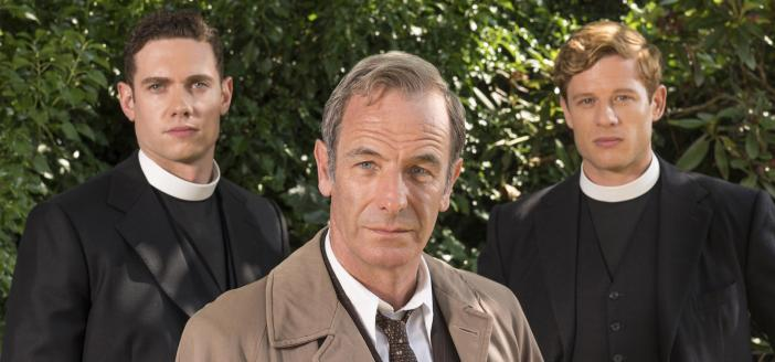 Tom Brittney, Robson Green and James Norton (Photo: Courtesy of Colin Hutton/Kudos, an Endemol Shine Company, MASTERPIECE and ITV)