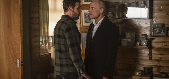 Jake (Jamie Sives) and Max (Mark Bonnar) in 'Guilt'