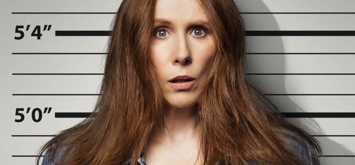 """Catherine Tate in the poster for """"Hard Cell"""" (Photo: Netflix)"""