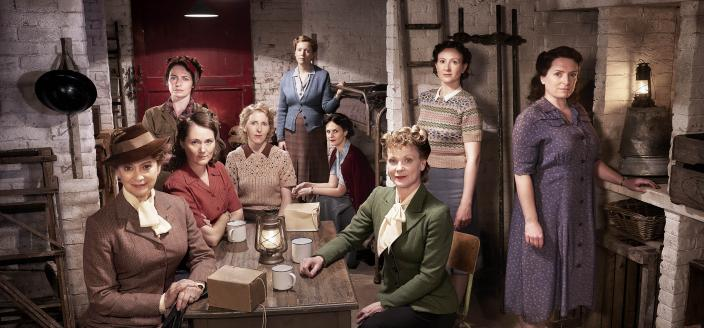 """The women of """"Home Fires"""" Season 2 (Photo: Courtesy of ITV Studios and MASTERPIECE)"""