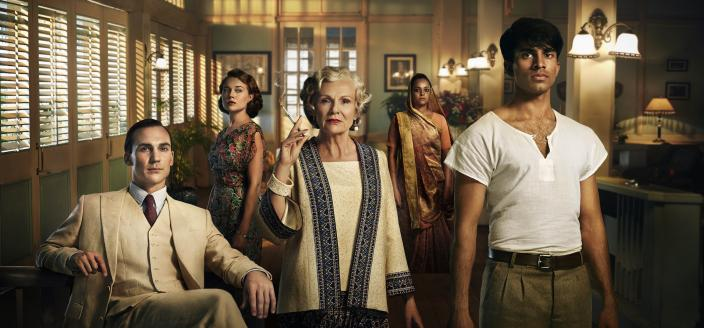 """The cast of """"Indian Summers"""" Season 2. (Photo: : Courtesy of New Pictures for Channel 4 and MASTERPIECE in association with All3MediaInternational)"""