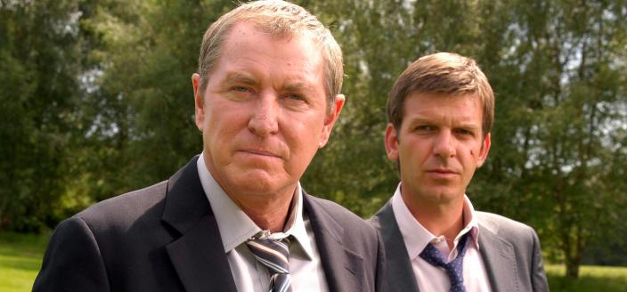 DCI Barnaby (John Nettles) and DS Jones (Jason Hughes) | Credit: APT