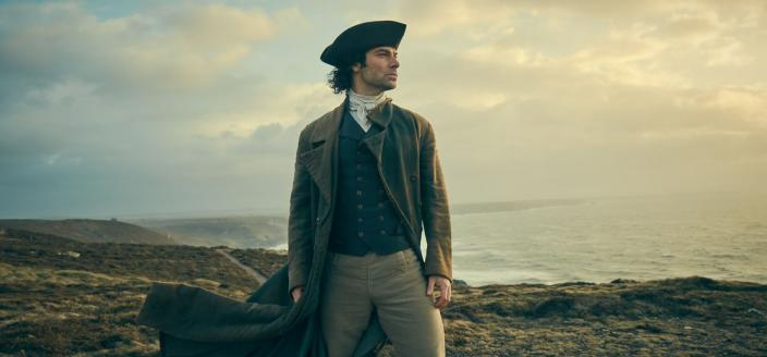 """More dashing jackets! More gorgeous scenery! More """"Poldark""""! (Photo: Courtesy of Robert Viglasky/Mammoth Screen for MASTERPIECE)"""