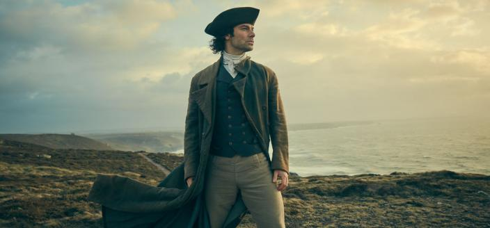 "Aidan Turner in all his dashing glory in ""Poldark""  (Photo: Courtesy of Robert Viglasky/Mammoth Screen for MASTERPIECE)"