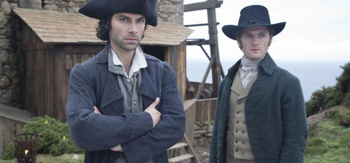Ross and Francis, best friends forever. (Photo: Courtesy of Mammoth Screen for BBC and MASTERPIECE)