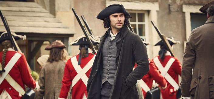 Ross, looking dashing in Season 3 (Photo: Courtesy of Mammoth Screen for BBC and MASTERPIECE)
