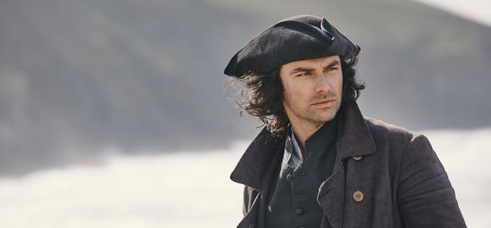 """Aidan Turner in the final season of """"Poldark"""" (Photo:  Courtesy of Mammoth Screen for BBC and MASTERPIECE)"""
