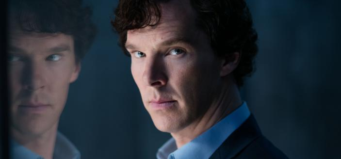 "Benedict Cumberbatch in ""Sherlock"" Season 4. (Photo: Courtesy of Laurence Cendrowicz/Hartswood Films & MASTERPIECE)"