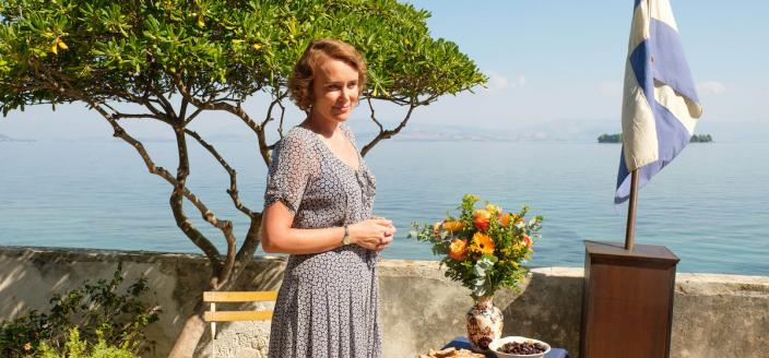 Keeley Hawes as Louisa Durrell (Photo Credit: Courtesy of Sid Gentle Films 2019)