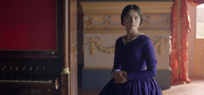 """Jenna Coleman as Queen Victoria in Season 2 episode """"The Luxury of Conscience"""" (Photo:  Courtesy of ©ITVStudios2017 for MASTERPIECE)"""