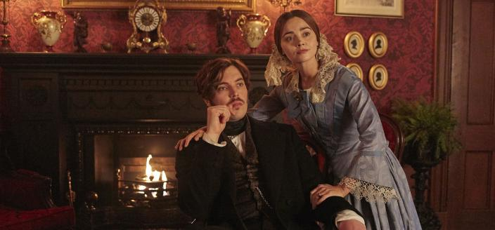 Victoria and Albert, finally back on track. (Photo: Courtesy of Justin Slee/ITV Plc for MASTERPIECE)