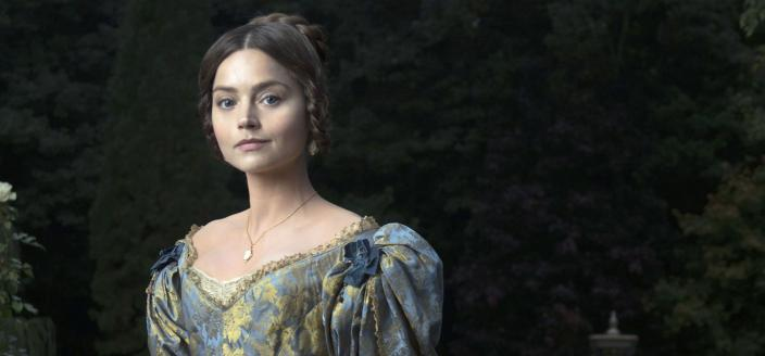 """Jenna Coleman as Queen Victoria in """"Victoria"""", coming in January 2017. (Photo: Courtesy of Des Willie/ITV Plc)"""