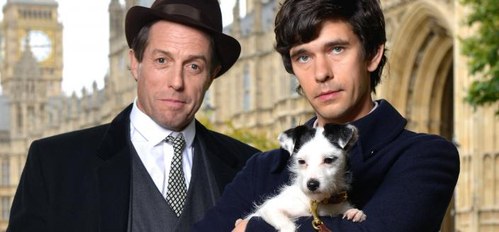 "Hugh Grant and Ben Whishaw in ""A Very English Scandal""  (Photo: BBC)"