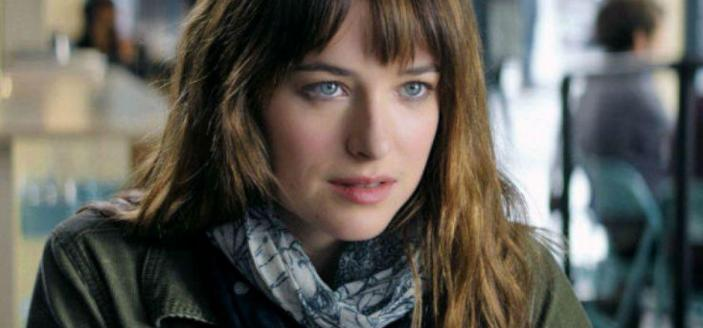 """Dakota Johnson in """"Fifty Shades of Grey"""" (Photo: Universal Pictures)"""