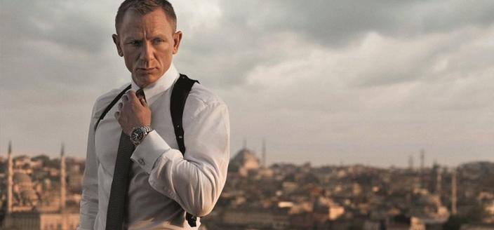 "Daniel Craig as Bond in the most recent film ""Spectre"" (Photo: Sony Motion Pictures)"