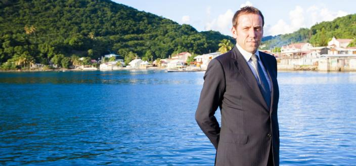 "Ben Miller in ""Death in Paradise"" (Photo: BBC)"