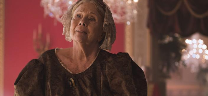 "Diana Rigg in ""Victoria"" (Photo: Image courtesy of ©ITVStudios2017 for MASTERPIECE))"