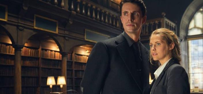 """Matthew Goode and Teresa Palmer in """"A Discovery of Witches"""" (Photo: Sky One/Bad Wolf Productions)"""