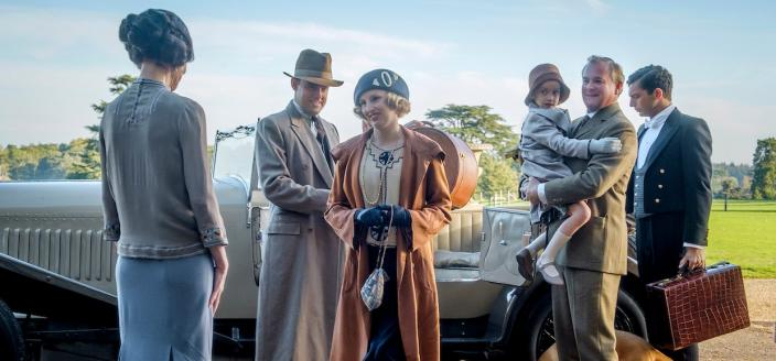 """A scene from the first """"Downton Abbey"""" film (Photo: Focus Features)"""