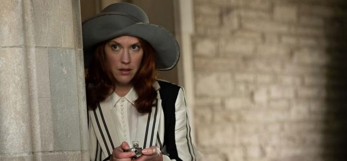 "Lauren Lee Smith in ""Frankie Drake Mysteries"". (Photo: CBC/PBS)"