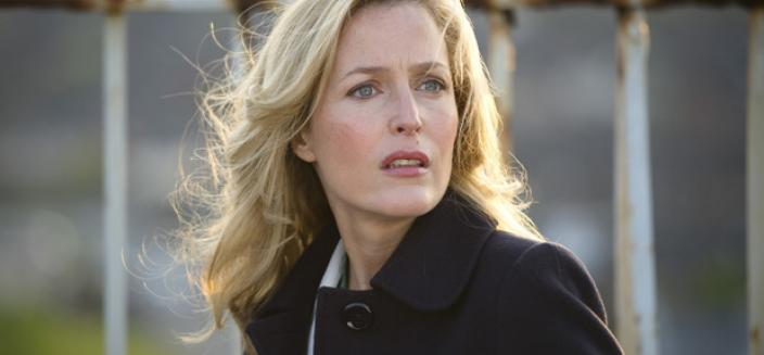 "Gillian Anderson in ""The Fall"". (Photo: BBC/Netflix)"
