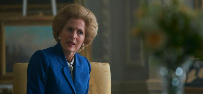 """Gillian Anderson in Season 4 of """"The Crown"""" (Photo: Netflix)"""