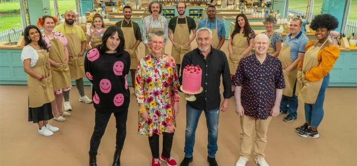 The cast of The Great British Baking Show, class of 2021