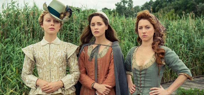 "The leading ladies of ""Jamestown"" (Photo: (Photo: Carnival Films Ltd 2019)"