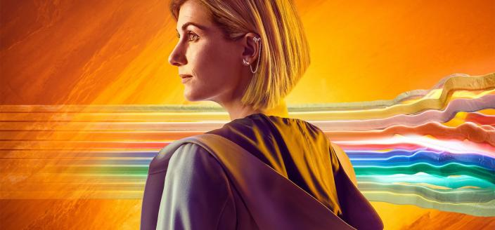Jodie Whittaker as the Doctor (Photo: BBC America)