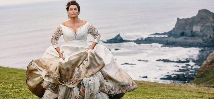 Not an auspicious start to the marriage. Julia Ormond as Julia. Photo Credit: BBC/Mainstreet Pictures