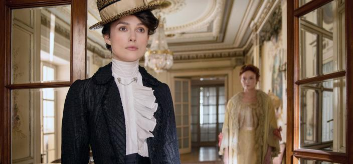 "Keira Knightley in the period drama film ""Colette"" (Photo: Bleeker Street Productions)"