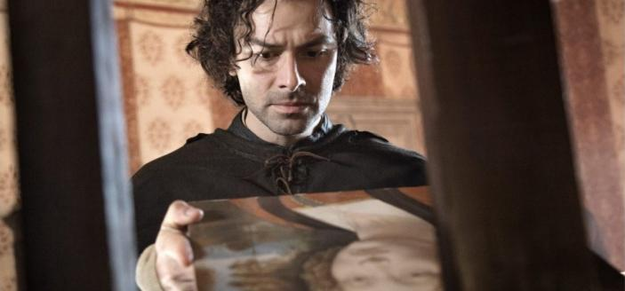 "Aidan Turner in ""Leonardo"" (Photo: Lux Vide)"