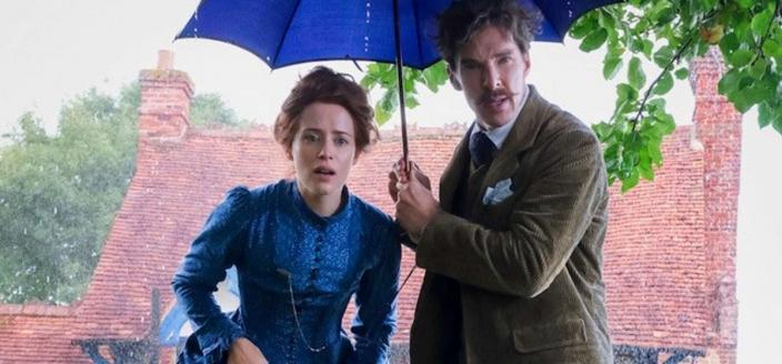 """Benedict Cumberbatch and Claire Foy in """"The Electrical Life of Louis Wain"""" (Photo: Studio Canal/Amazon Studios)"""