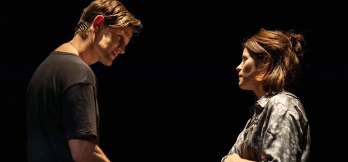 Matt Smith and Claire Foy in Lungs (Photo: Helen Maybanks)